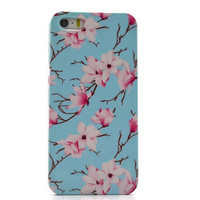iPhone 6 case Floral iphone 6 plus case mint floral Samsung galaxy S6 case  galaxy S5 S4 mini case iphone 4 5 5C, Note 4 note 3 LG G4 Xperia