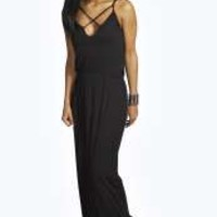 Louisa Strappy Front Maxi Dress