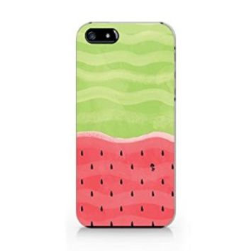 Watermelow Iphone 4 Case, Watermelow Iphone 4S Case Plastic Hard White Case Unique Design-Quindyshop