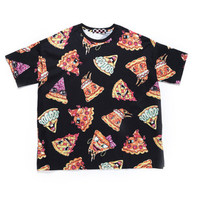 PIZZA FACE TEE