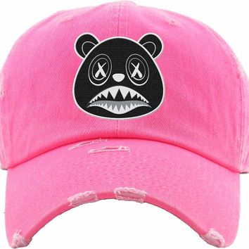 Oreo Baws Neon Pink Dad Hat