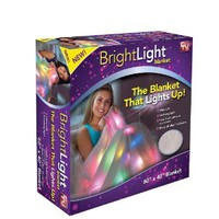 Bright Light Blanket - The Blanket that Lights Up - As seen on TV (matches light up pillow, sold separately)