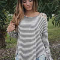 Riley Stripped Tee