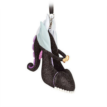 disney the little mermaid villain ursula shoe ornament new with tag