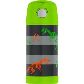 Thermos Crckt 12oz Funtainer Water Bottle - Dino