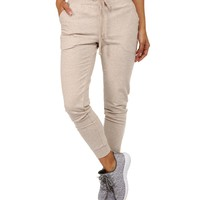 Taupe Pac Jogger