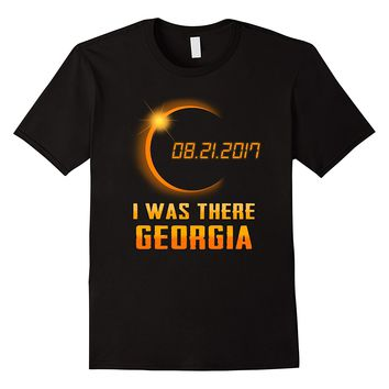 Beautiful Georgia Total Solar Eclipse 2017 Shirt