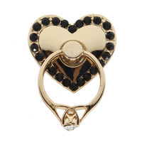 Chic Universal Heart Shape Finger Ring Stand Bracket Buckle Mobile Phone Holder
