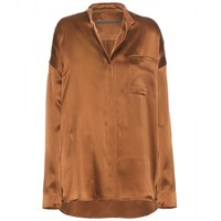 haider ackermann - dali silk shirt