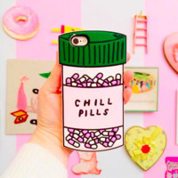 iPhone 6 Silicone Case-Chill Pill