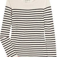 Aubin & Wills Chedburgh striped merino wool sweater - 65% Off Now at THE OUTNET