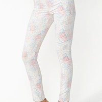 Faded Rose Skinny Jeans