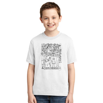Characters Of Bobs Burgers Youth T-shirt