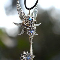 Lore of the Wings Key Necklace