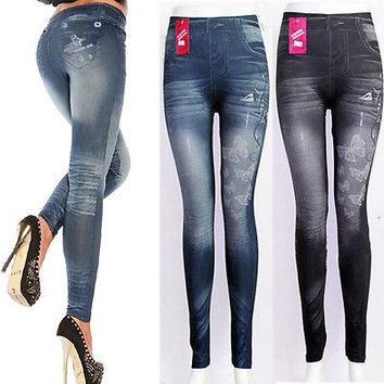 Super Sexy New Hot Sale Spring Pencil High Waist Jeans Stretch skinny jeans women jeans pants