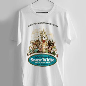 Snow White and the Seven Dwarfs T-shirt Men, Women Youth and Toddler