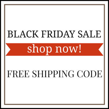 Black Friday Sale - Coupon Code - FREE SHIPPING CODE - Discount Code - Personalized Hand Stamped Jewelry - Christmas Gifts