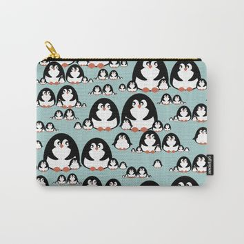 Penguins Carry-All Pouch by VanessaGF