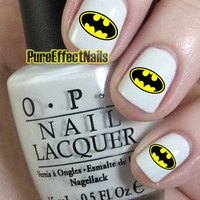 Bat Man Nails Decals