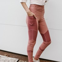 High Tide Work Out Leggings (Pink)