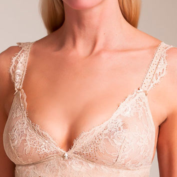 Aubade: Precious Glow Triangle Bra | Nancy Meyer