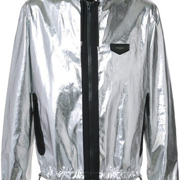 Silver Metallic Jacket by Givenchy