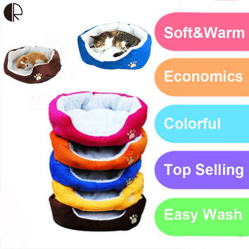 Cheap Pet Cat Small Dog Bed House Puppy Kitten Kennel Blanket Mat Cushion Sofa Bedding For dogs Products for Dogs Hp806