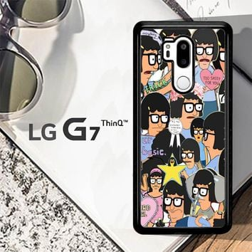 Tina Belcher Collage Bob'S Burgers L1494 LG G7 ThinQ Case