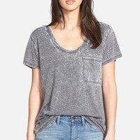 Women's Treasure&Bond One Pocket Burnout Tee,