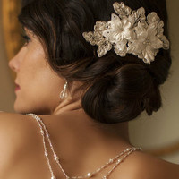 Sophisticated Handmade Bridal Comb from LucyAlia's Bridal Closet