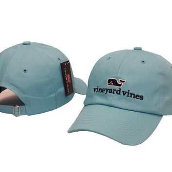 Vineyard Vines Women Men Embroidery Sports Sun Hat Baseball Cap Hat-4