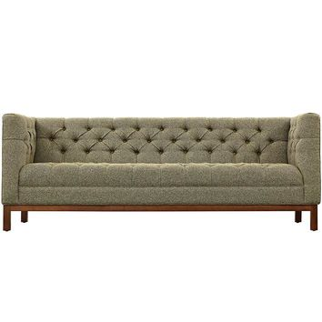 SAVION UPHOLSTERED FABRIC SOFA IN OATMEAL