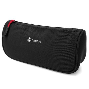 LMFXT3 Tomtoc Laptop Accessories Pouch Bag Sleeve for Laptop Tablet Power Adapter, Charger, Mouse, Cable, Hard Drives, Pen Case Pencil Pouch, Travel Toiletry Organizer Shaving Dopp Kit Cosmetic Bag