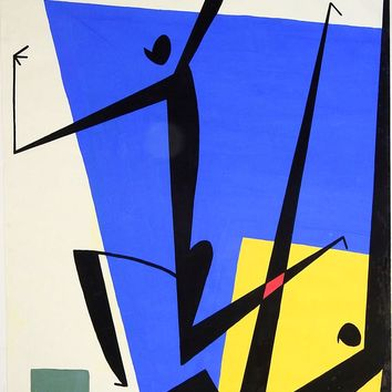 Abstract Figures Painting