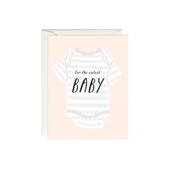 Baby Onesuit Card