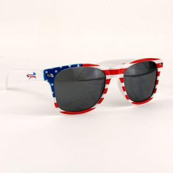 "All Enemies Foreign and Domestic ""Longshanks"" Wayfarer Shades by Country Club Prep"