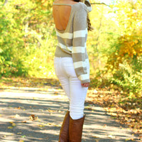 Hazel Cream Sweater