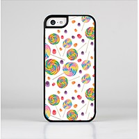 The Lollipop Candy Pattern Skin-Sert Case for the Apple iPhone 5c