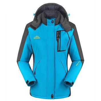 Windproof Snowboarding Women Ski Jackets