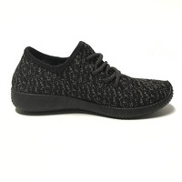 Slip On Tennis Shoes In Black