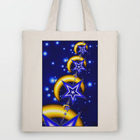 Reach for the Moon Tote Bag by Alice Gosling | Society6