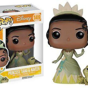 Funko Pop Disney: Princess & The Frog - Princess Tiana and Naveen Vinyl Figure