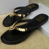 Trendsetter Versace Women Casual Fashion Flat Sandal Slipper Shoes