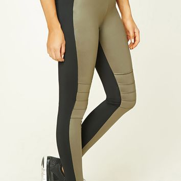 Active Sheeny Moto Leggings