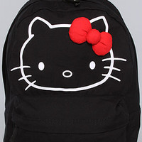 The Hello Kitty Red Bow Collage Backpack