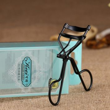 Delicate Lady Women Eyelash Curler Lash Curler Nature Curl Style Cute Curl Eyelash Curlers Black Beauty Tools