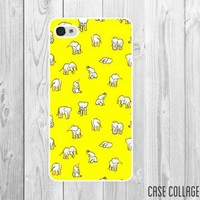Tiny Elephants 7050 iPhone Case by CaseCollage on Zibbet