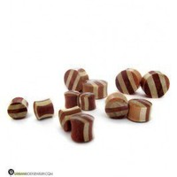 Saba Wood Striped Plugs | Wood Ear Plugs | UrbanBodyJewelry.com