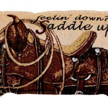 Horse Throw Pillow - One Side Design