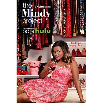 "Mindy Project Poster 16""x24"""